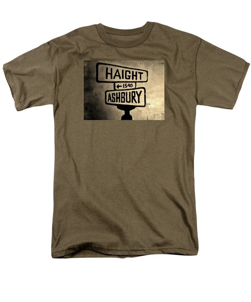 Men's T-Shirt  (Regular Fit) featuring the photograph Haight Ashbury by Dany Lison