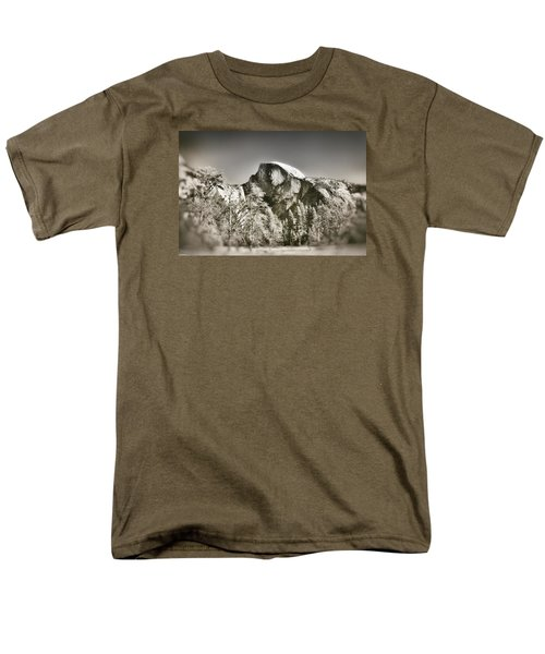 Half Dome Yosemite Men's T-Shirt  (Regular Fit) by James Bethanis