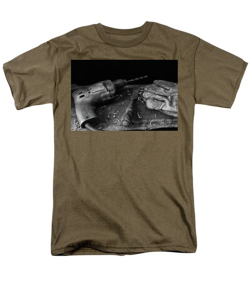 Men's T-Shirt  (Regular Fit) featuring the photograph Hand Tools 3 by Richard Rizzo