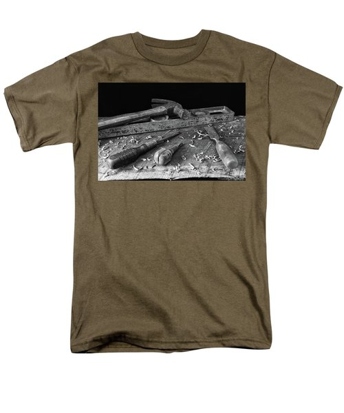 Men's T-Shirt  (Regular Fit) featuring the photograph Hand Tools 2 by Richard Rizzo