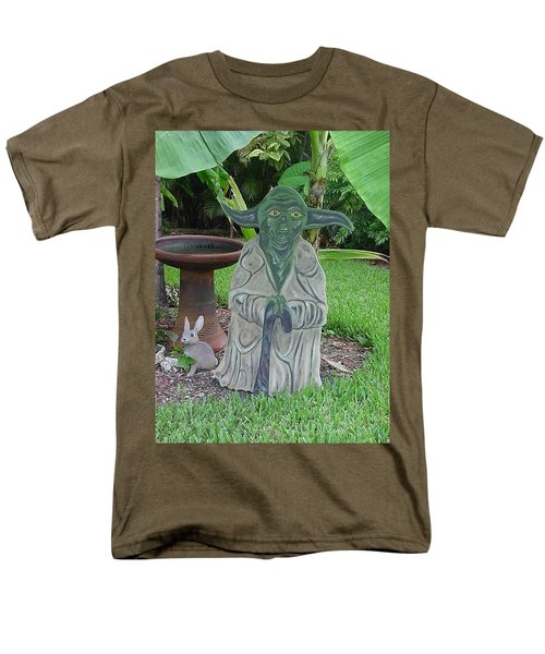 Hanging Out In The Garden Men's T-Shirt  (Regular Fit) by Val Oconnor