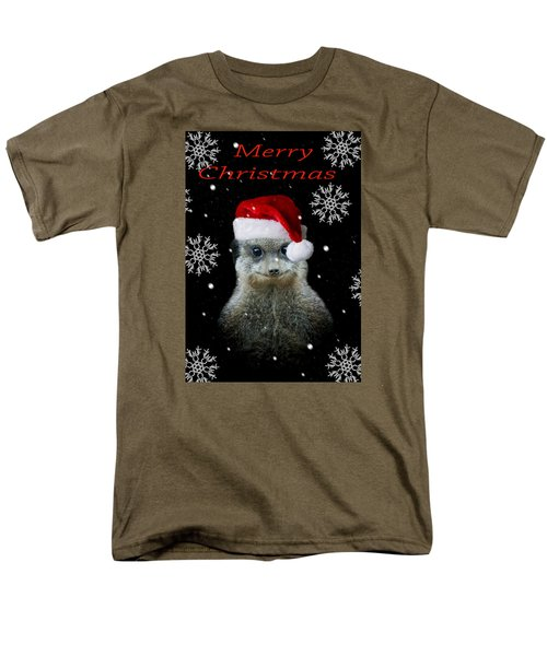 Happy Christmas Men's T-Shirt  (Regular Fit) by Paul Neville