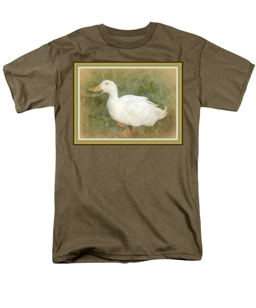 Happy Duck Portrait Men's T-Shirt  (Regular Fit)