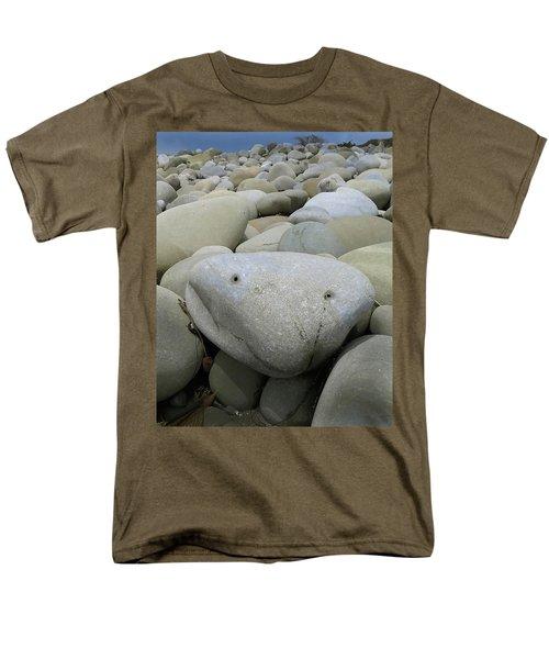 Happy Rock Men's T-Shirt  (Regular Fit) by Joe  Palermo
