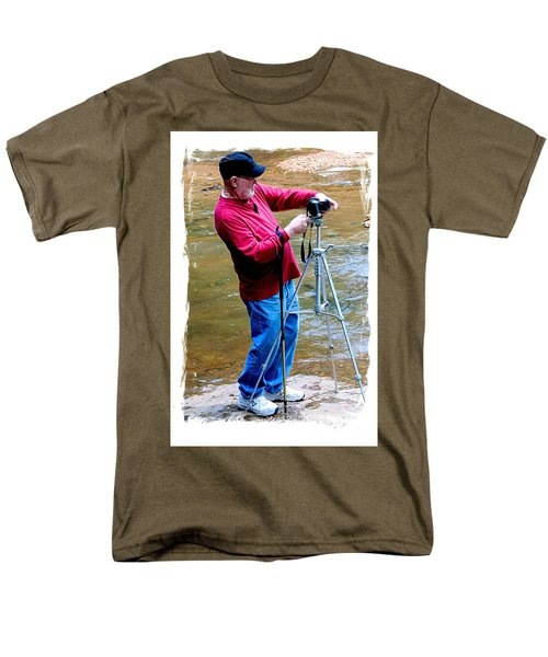 Hard At Work Men's T-Shirt  (Regular Fit) by Marilyn Carlyle Greiner