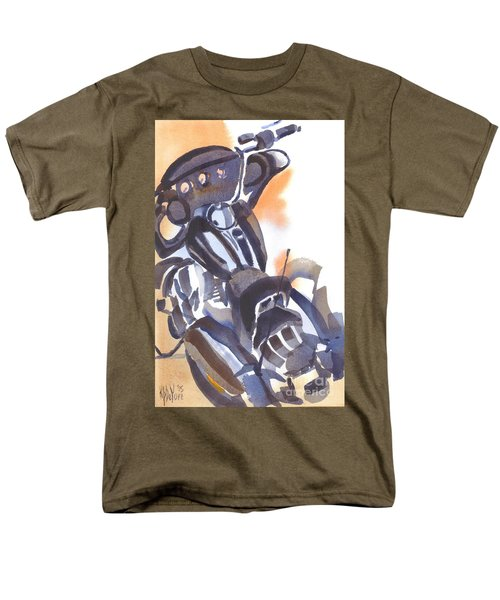 Motorcycle Iv Men's T-Shirt  (Regular Fit) by Kip DeVore