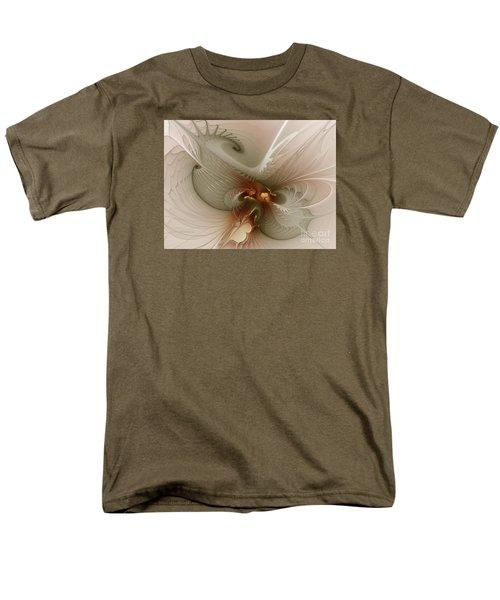 Men's T-Shirt  (Regular Fit) featuring the digital art Harmonius Coexistence by Karin Kuhlmann