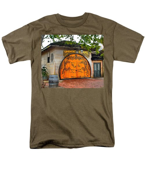 Men's T-Shirt  (Regular Fit) featuring the photograph Harmony Chapel Harmony California by Barbara Snyder