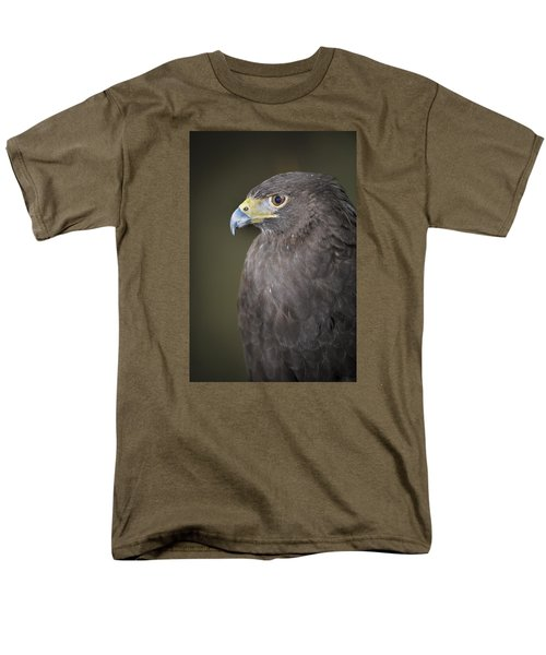 Men's T-Shirt  (Regular Fit) featuring the photograph Harris Hawk by Tyson and Kathy Smith