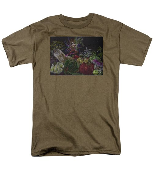 Men's T-Shirt  (Regular Fit) featuring the drawing Harvest by Dawn Fairies