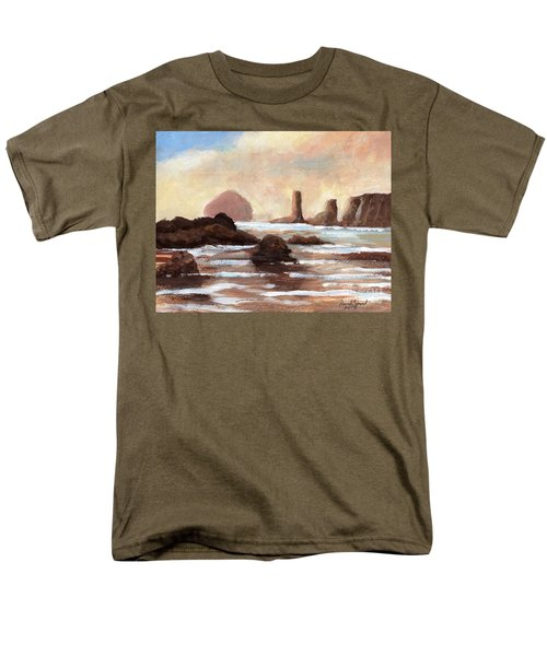 Hay Stack Reef Men's T-Shirt  (Regular Fit) by Randy Sprout
