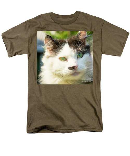 Head Of Cat Men's T-Shirt  (Regular Fit) by Irina Afonskaya