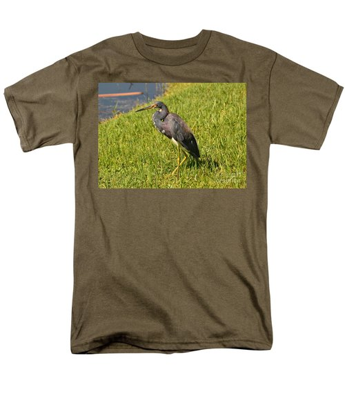 Men's T-Shirt  (Regular Fit) featuring the photograph Heading For Water by Carol  Bradley