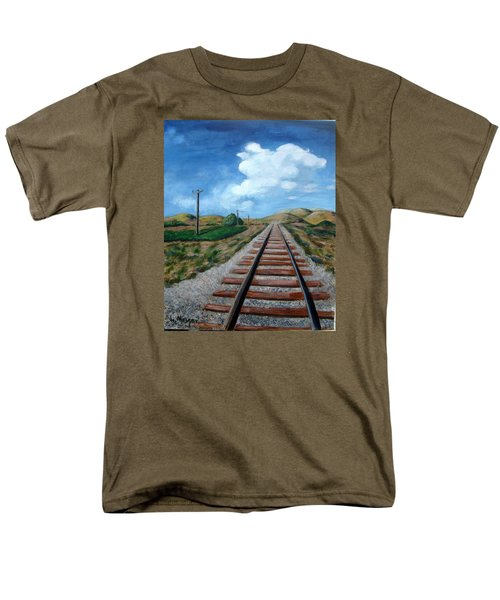 Heading West Men's T-Shirt  (Regular Fit) by Laurie Morgan