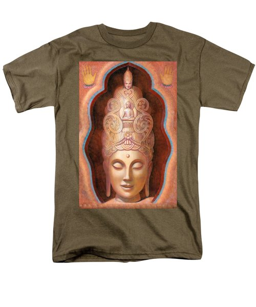 Healing Tara Men's T-Shirt  (Regular Fit) by Sue Halstenberg