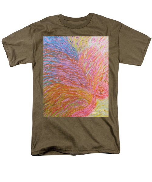 Heart Burst Men's T-Shirt  (Regular Fit) by Rachel Hannah