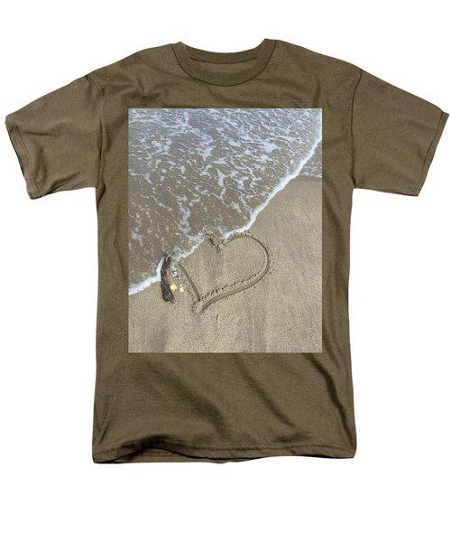 Heart Lost Men's T-Shirt  (Regular Fit) by Arlene Carmel