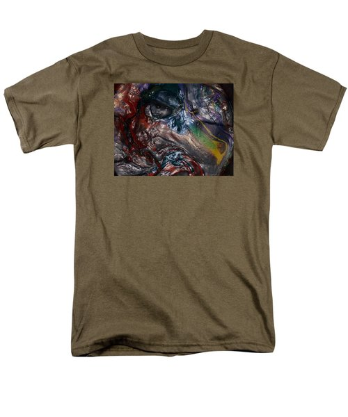 Helicopter Blade Smile Men's T-Shirt  (Regular Fit) by Gyula Julian Lovas