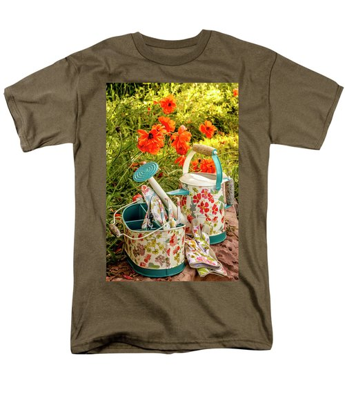 Men's T-Shirt  (Regular Fit) featuring the photograph Hello Summer by Teri Virbickis
