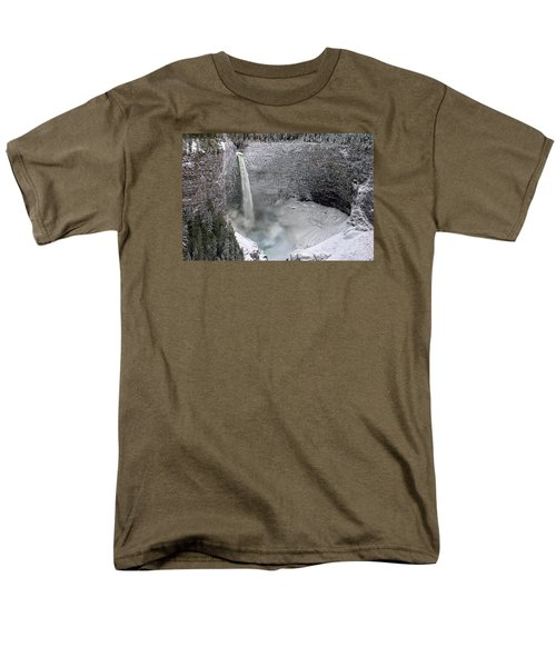 Helmcken Falls Men's T-Shirt  (Regular Fit) by Ed Hall