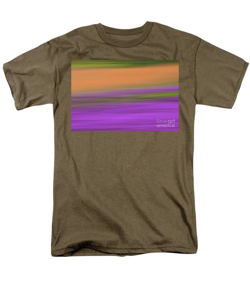 Men's T-Shirt  (Regular Fit) featuring the photograph Henbit Abstract - D010049 by Daniel Dempster