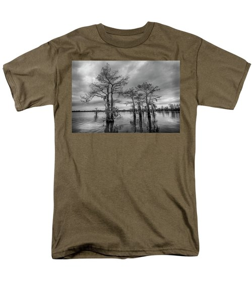 Henderson Swamp Wetplate Men's T-Shirt  (Regular Fit) by Andy Crawford