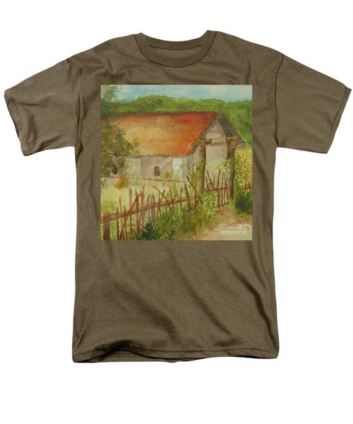 Men's T-Shirt  (Regular Fit) featuring the painting Herb Garden by Vicki  Housel