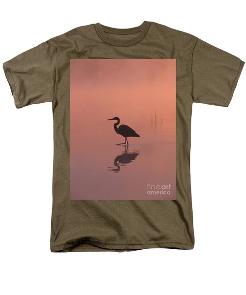 Men's T-Shirt  (Regular Fit) featuring the photograph Heron Collection 1 by Melissa Stoudt
