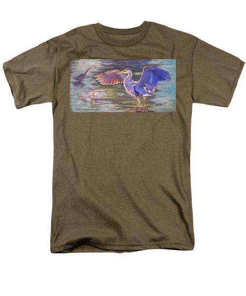 Heron Majesty Men's T-Shirt  (Regular Fit)