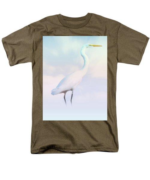 Heron Or Egret Stance Men's T-Shirt  (Regular Fit) by Joseph Hollingsworth