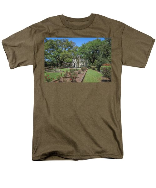 Men's T-Shirt  (Regular Fit) featuring the photograph Heyman House Garden 5 by Gregory Daley  PPSA