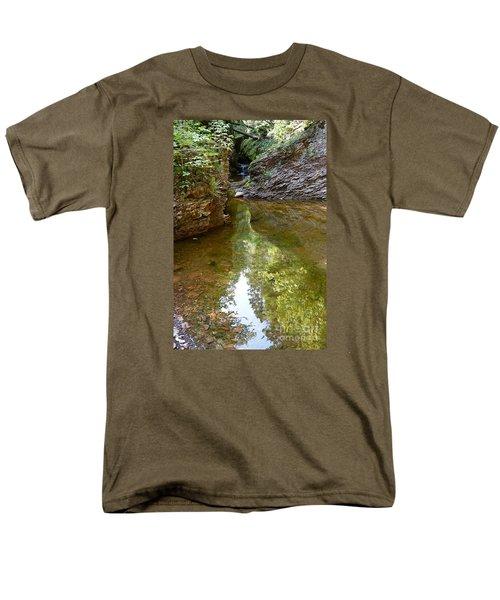 Men's T-Shirt  (Regular Fit) featuring the photograph Hidden Gem On Gauthier Creek by Sandra Updyke