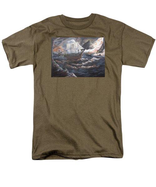 Hidden Skull Cove Men's T-Shirt  (Regular Fit) by Kevin F Heuman