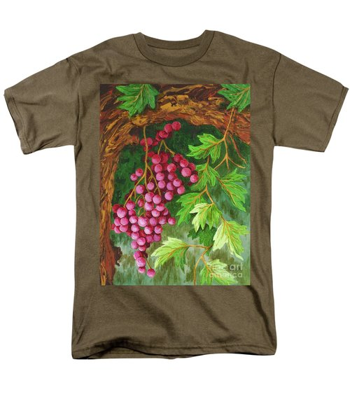 Men's T-Shirt  (Regular Fit) featuring the painting Hidden Treasure by Katherine Young-Beck