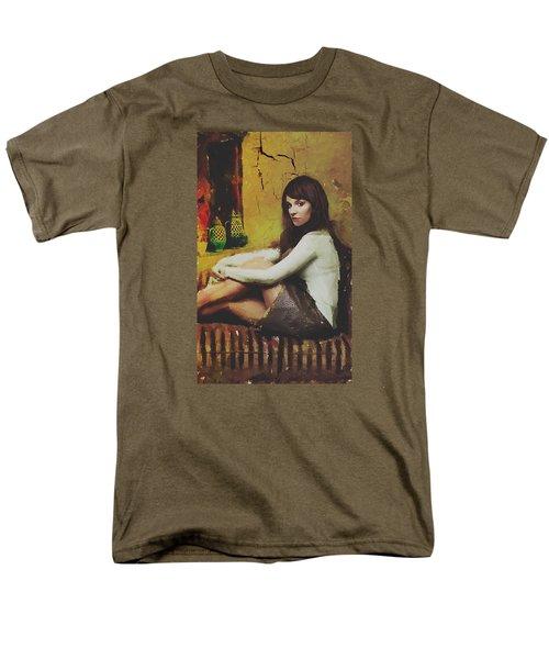 Hideaway Men's T-Shirt  (Regular Fit) by Galen Valle