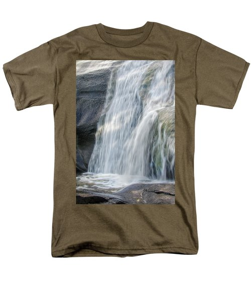 High Falls Three Men's T-Shirt  (Regular Fit) by Steven Richardson