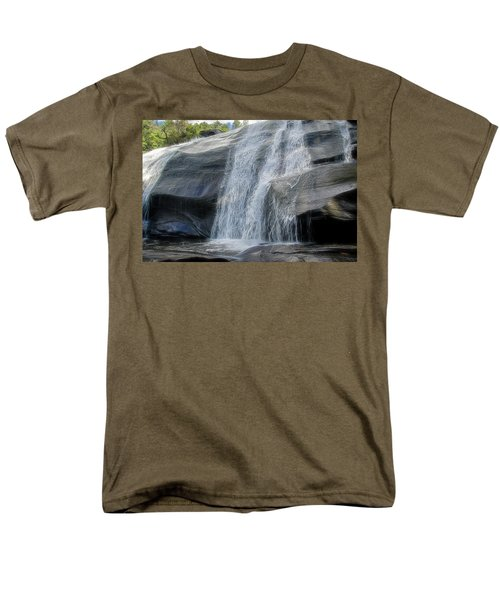 High Falls Two Men's T-Shirt  (Regular Fit) by Steven Richardson
