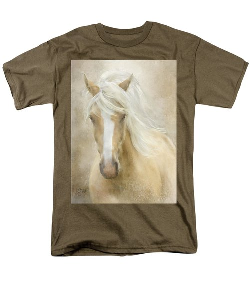 Men's T-Shirt  (Regular Fit) featuring the painting Spun Sugar by Colleen Taylor