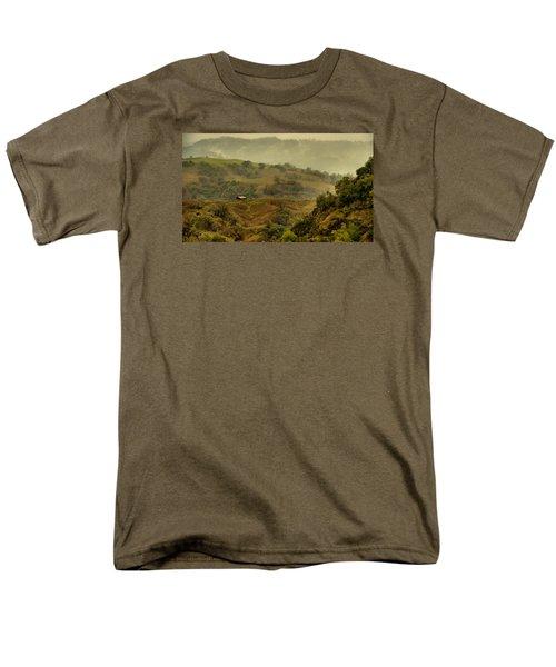 Hills Above Anderson Valley Men's T-Shirt  (Regular Fit) by Josephine Buschman