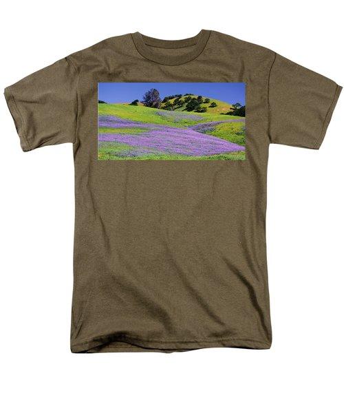 Hillside Carpet Men's T-Shirt  (Regular Fit) by Josephine Buschman