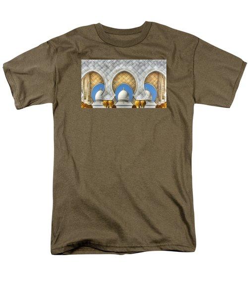 Hindu Temple Men's T-Shirt  (Regular Fit) by John Swartz