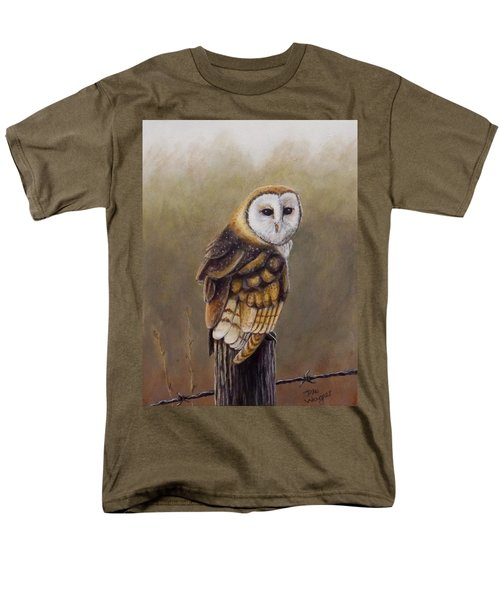 Men's T-Shirt  (Regular Fit) featuring the painting His Majesty Sits by Dan Wagner