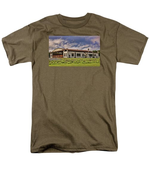Historic Curtiss Wright Hanger Men's T-Shirt  (Regular Fit) by Steven Richardson