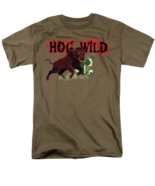 Hog Wild Tee Men's T-Shirt  (Regular Fit) by Rob Corsetti