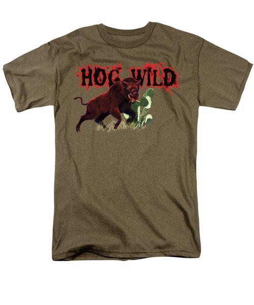 Hog Wild Tee Men's T-Shirt  (Regular Fit)