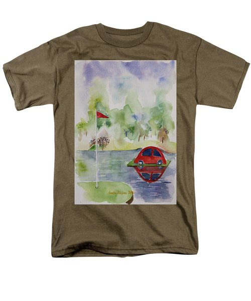 Hole In One Prize Men's T-Shirt  (Regular Fit) by Geeta Biswas