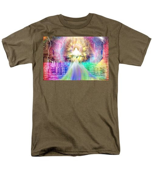 Men's T-Shirt  (Regular Fit) featuring the digital art Holy Holy Holy by Dolores Develde