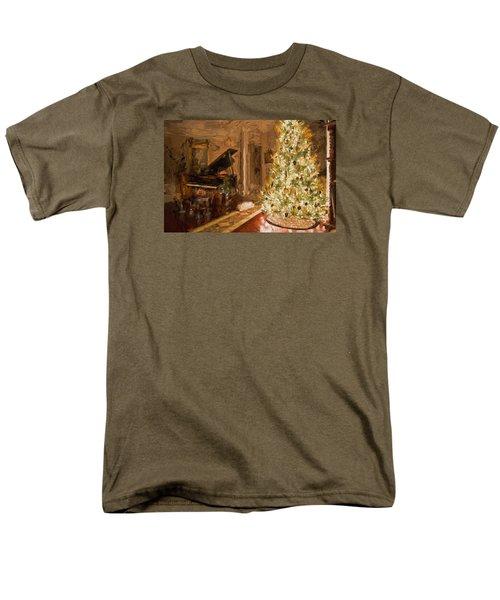 Home For Christmas Men's T-Shirt  (Regular Fit) by Cathy Jourdan