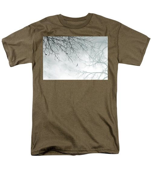 Men's T-Shirt  (Regular Fit) featuring the digital art Home by Trilby Cole