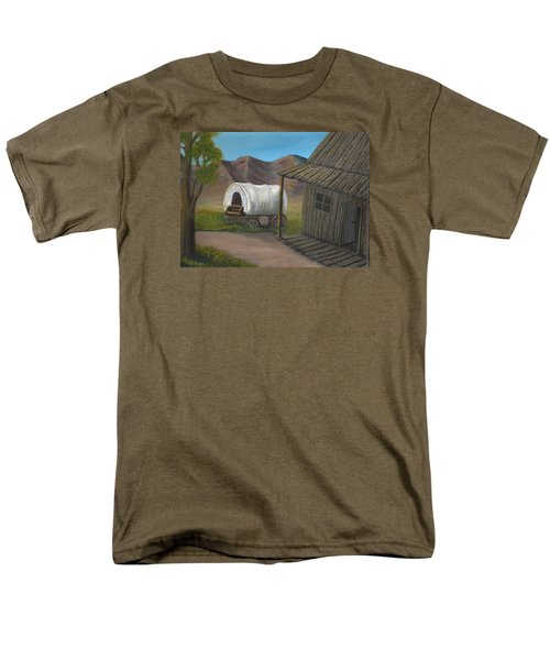 Homestead Men's T-Shirt  (Regular Fit) by Sheri Keith